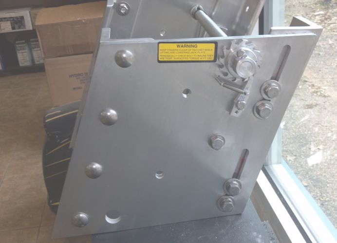 Jack Plates Products From Hydro Dynamics Including Quot Rapid